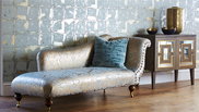Leonida the new collection of wallpaper and fabrics by Harlequin (UK)